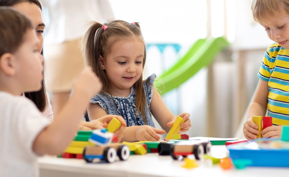 children activities at day care